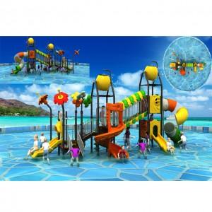 New Design Professional Custom High Quality Fiberglass Childrens' Water Slide playground