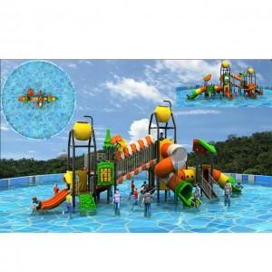 water park equipment pool slide set prices for children ,kids water house