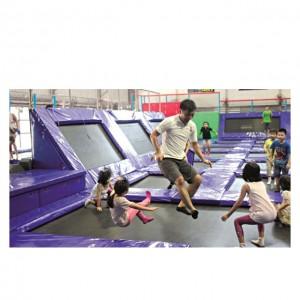 trampoline innendørs