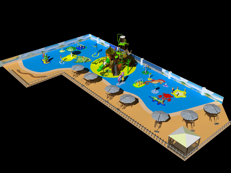 Shanghai mutong new water playground world design