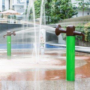 Top Quality Aqua Spray Park Equipment Water Cannon for Children for Czech Republic Manufacturer