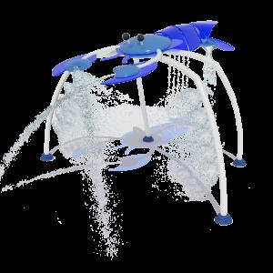 Aquatic Fiberglass Splash Pad-MT-102604
