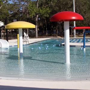 Swimming Pool Equipment Mushroom High Quality Water Park Waterfall Mushroom