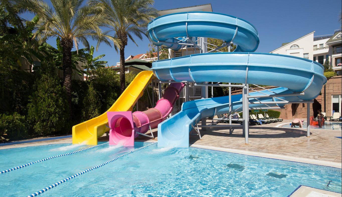 Aqua park pool slide used fiberglass water slides for sale - Used swimming pool slides for sale ...