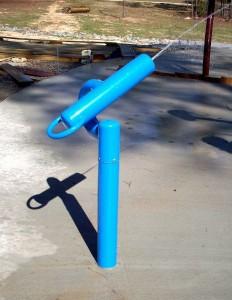 hot galvanized steel AQUA PARK water playground gun for sale