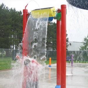 Water Park Accessories Flower Spray Toys Aqua Play Equipment for Kids Amusement Park