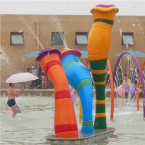 kids aqua play equipment padding pool play equipment