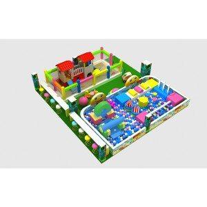 Factory provide nice price Soft Indoor Playground for Kindergarten/Preschool Children to Russia Manufacturers