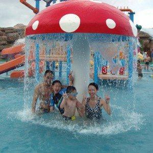 Short Lead Time for Splash Park Used Fiber Glass Kid Amusement Water Mushroom for Berlin Manufacturers