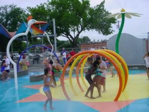 Aqua Water Spray Amusement Water Park Equipment Equipment Water Cannon for kid