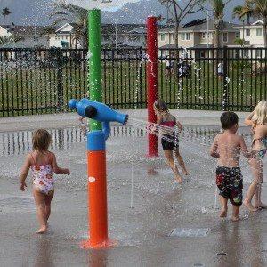 Aqua Spray Park Equipment Water Cannon for Children