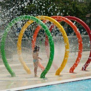 Manufactur standard Water Park Spray Loop for Kids Pool Play to kazakhstan Factory
