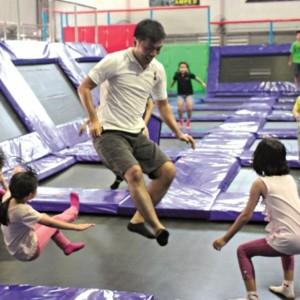 wholesale trampoline park manufacturer