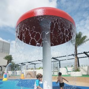swimming pool water park play equipment water mushroom